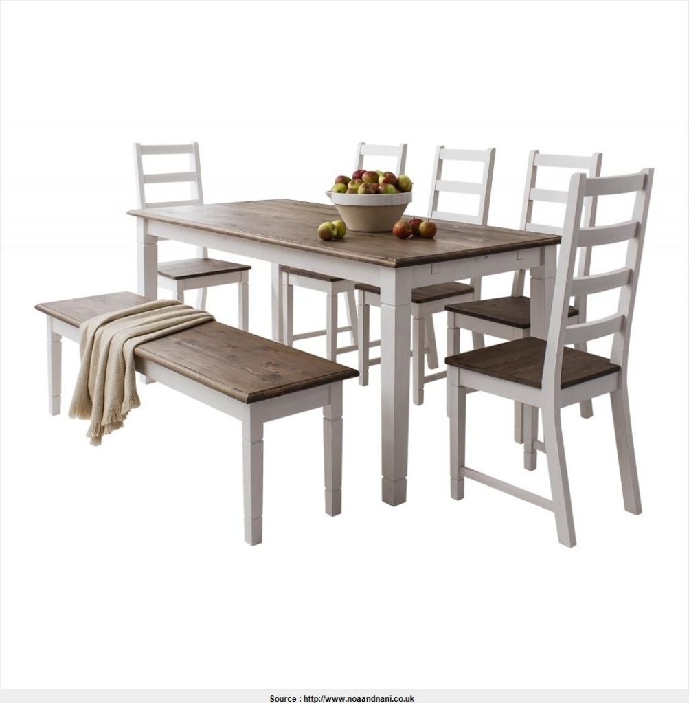table and chairs with bench chair covers for without arms dining visual hunt canterbury white dark pine