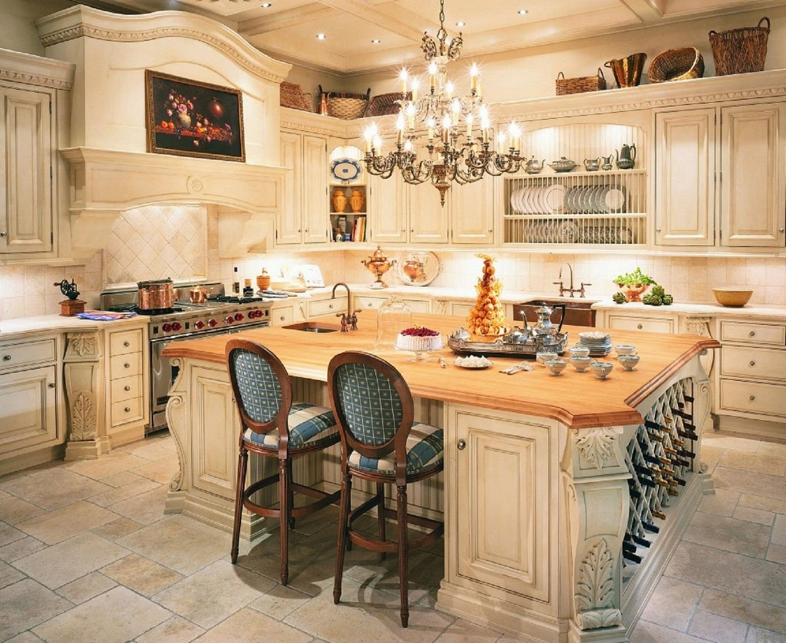 french country kitchens discount replacement kitchen cabinet doors decor visual hunt around the world