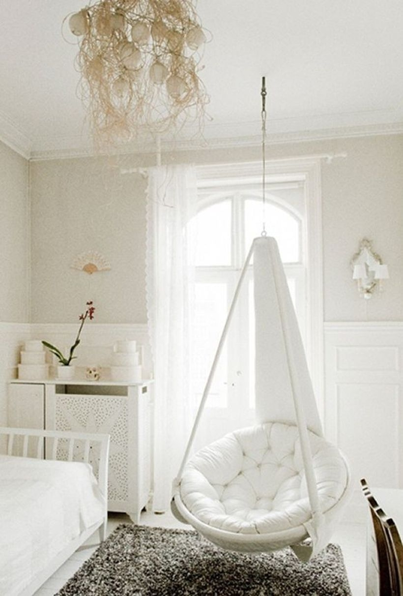 hanging chair from ceiling heavy duty lawn chairs folding for bedroom visual hunt papasan home ideas pinterest
