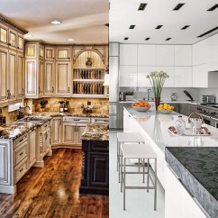 Antique White Kitchen Cabinets Best Faucet Brand Visual Hunt