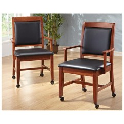 Caster Dining Chairs Aqua Slipper Chair With Casters Visual Hunt Ideas For Room