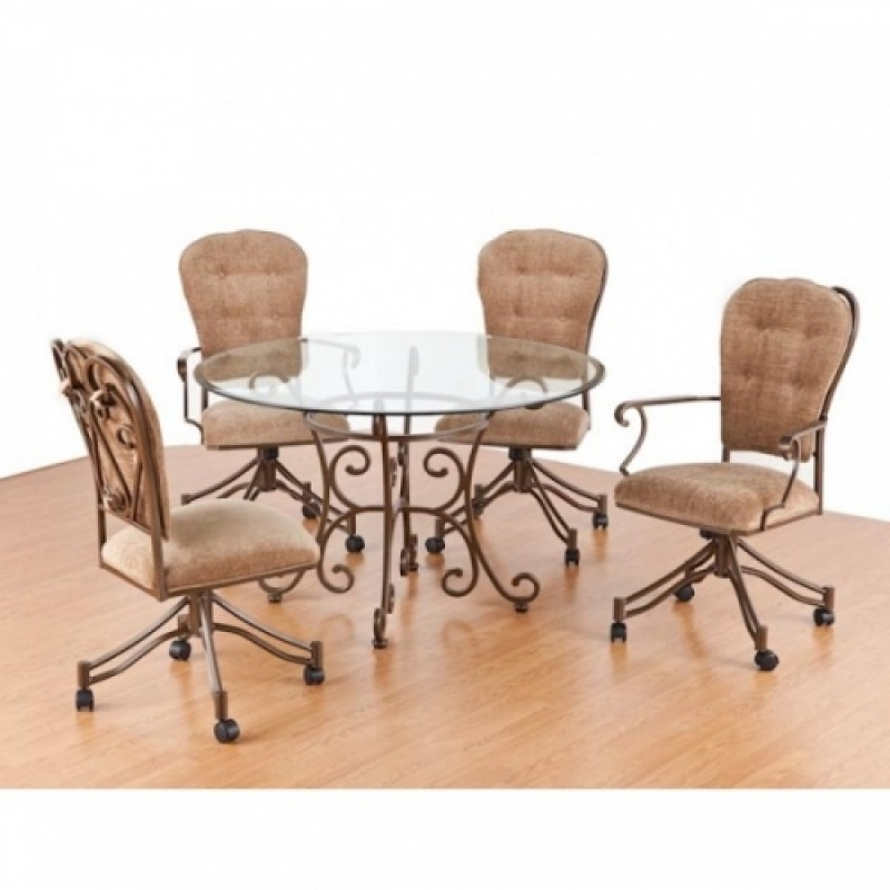 Dinette Sets With Caster Chairs  Visual Hunt