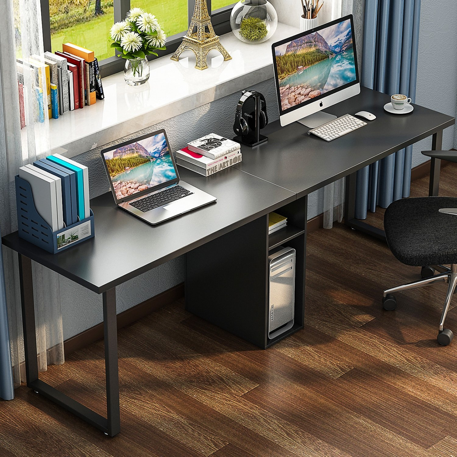 home office computer desks for two people 2 Person Desk - Visual Hunt