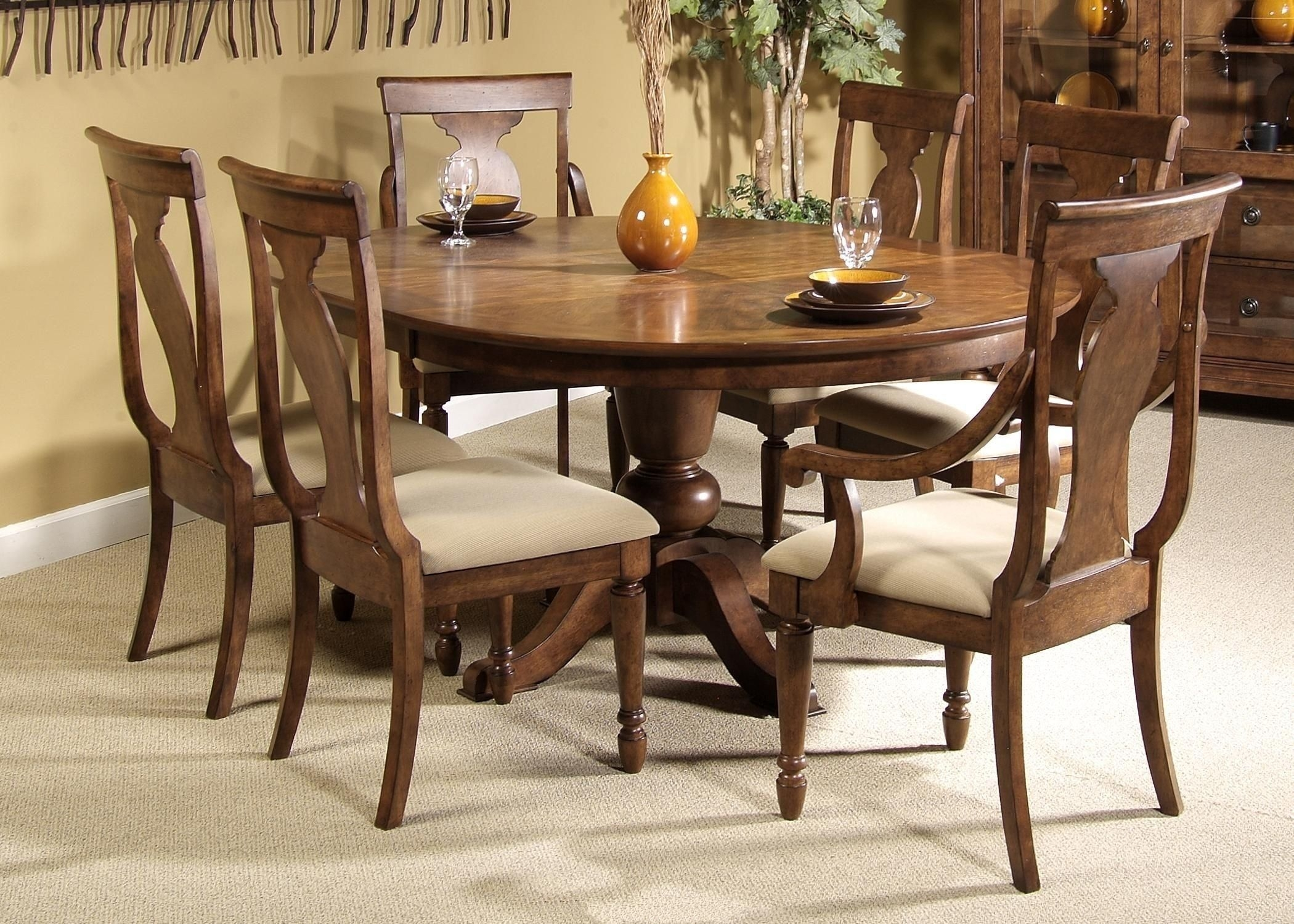 round oak table and 6 chairs wheelchair haven dining for visual hunt luxury 8 light of