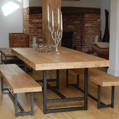 Kitchen Table Set With Bench Hotel New York Dining Visual Hunt Modern Style Ideas Homesfeed