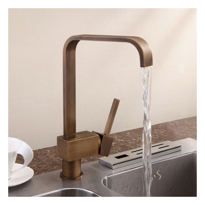 brass kitchen sink bosch package antique faucet visual hunt relia single handle