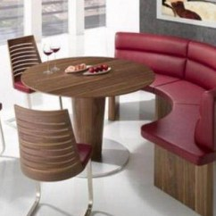 Kitchen Table Bench Seat Framed Chalkboard For Dining With Visual Hunt Round Tables Seating Interior Exterior