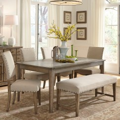 Table And Chairs With Bench Turquoise Velvet Chair Dining Visual Hunt Rustic Casual 6 Piece Set