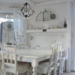 Dinning Room Table And Chairs Red Barber Chair Shabby Chic Dining Visual Hunt Awesome White Dark
