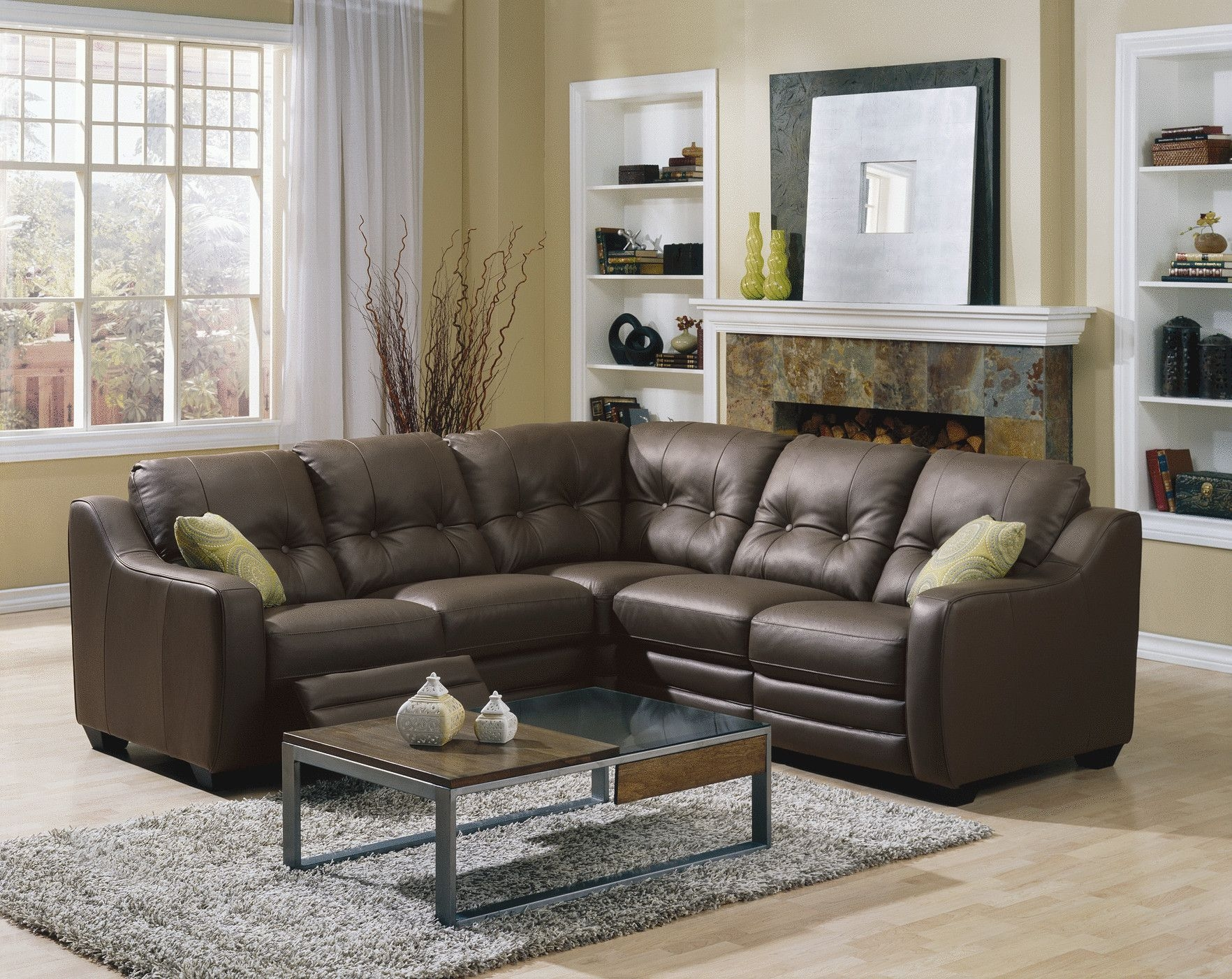 sectional sofas recliners the leather sofa company newport small with recliner visual hunt scale