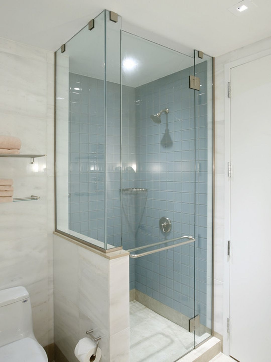 Corner Shower For Small Bathroom  Visual Hunt