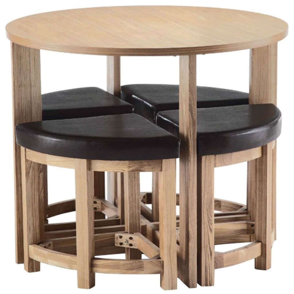 small table and chairs purple reading chair space saving visual hunt saver dining round