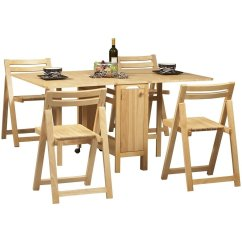 Table With Chairs Patio And Chair Set Cover Space Saving Visual Hunt Dining Interior