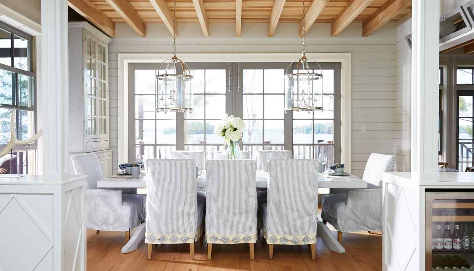 dining chair covers diy pride lift controller types inspirations and tips visual hunt coastal inspired room