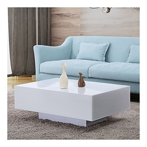 white high gloss coffee table you ll