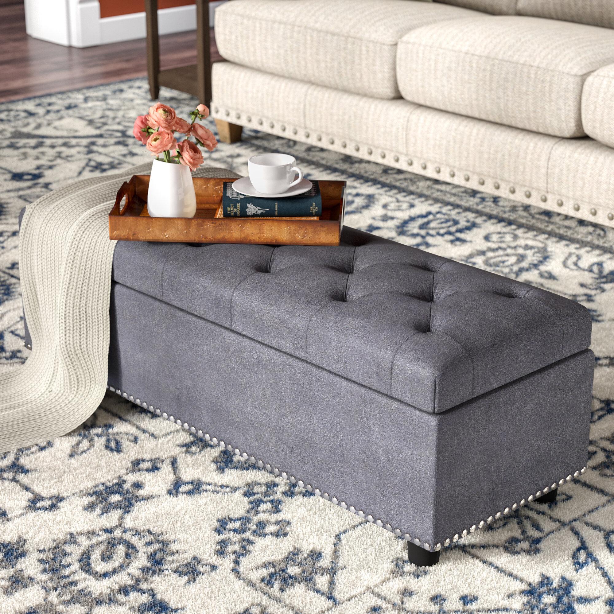 rectangular ottoman coffee table you ll