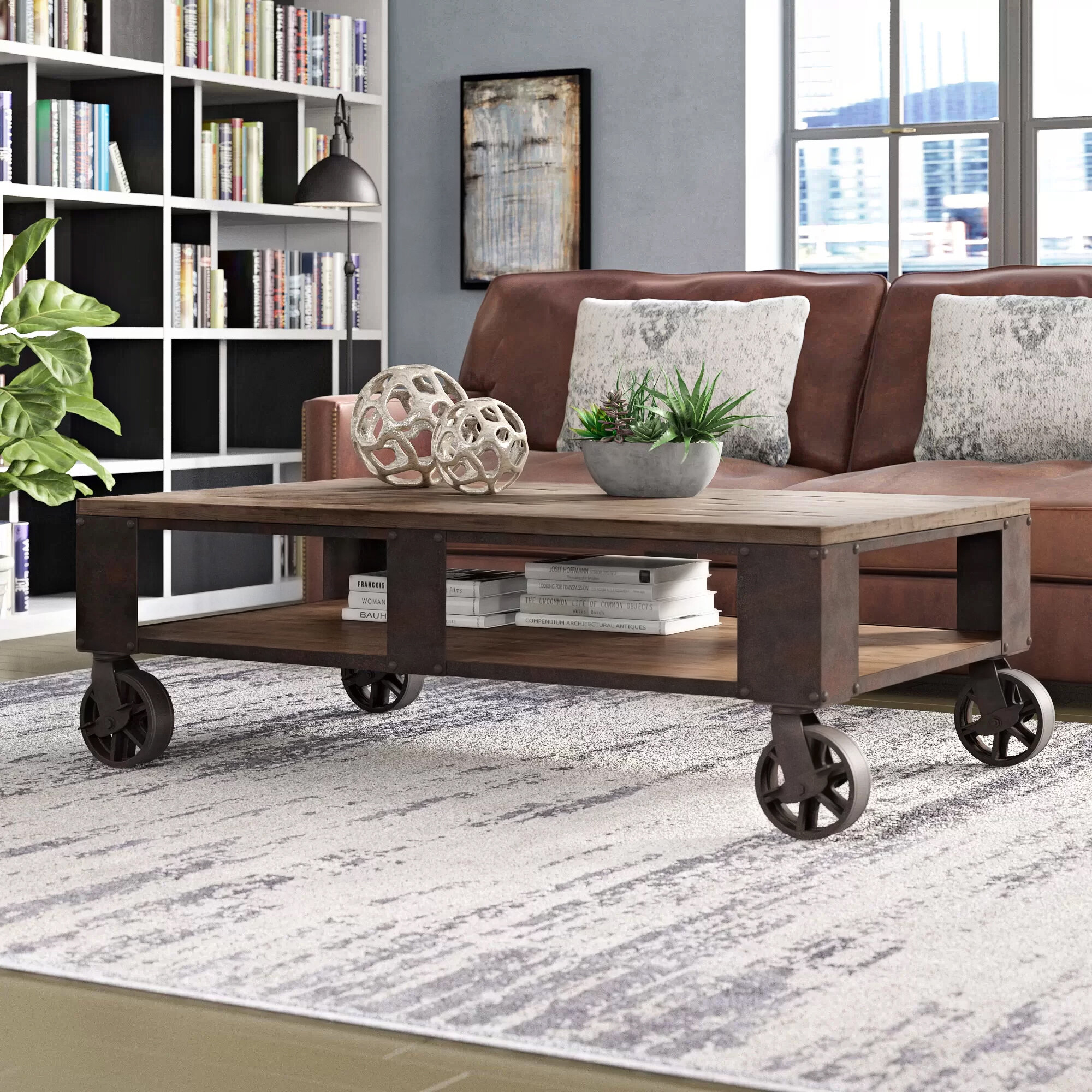 coffee table with wheels you ll love in