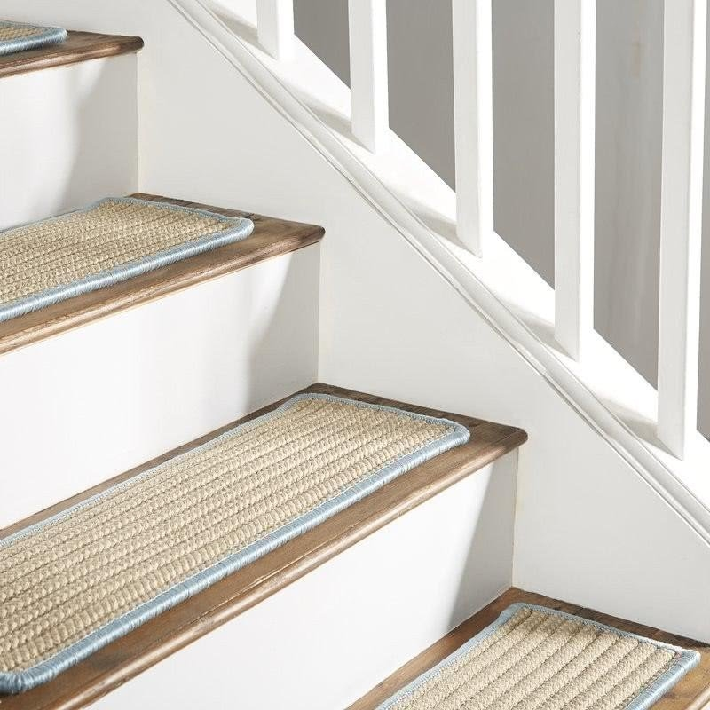 50 Decorative Stair Treads You Ll Love In 2020 Visual Hunt   Navy Blue Stair Treads   Wayfair   Non Slip   Longshore Tides   Rug Stair   Stair Runners