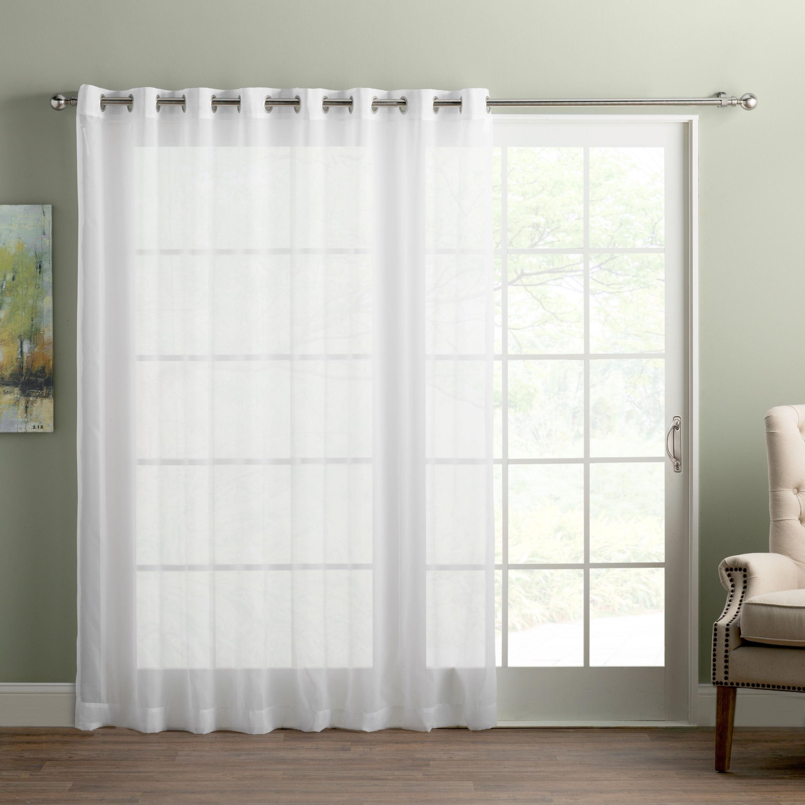 sliding curtains
