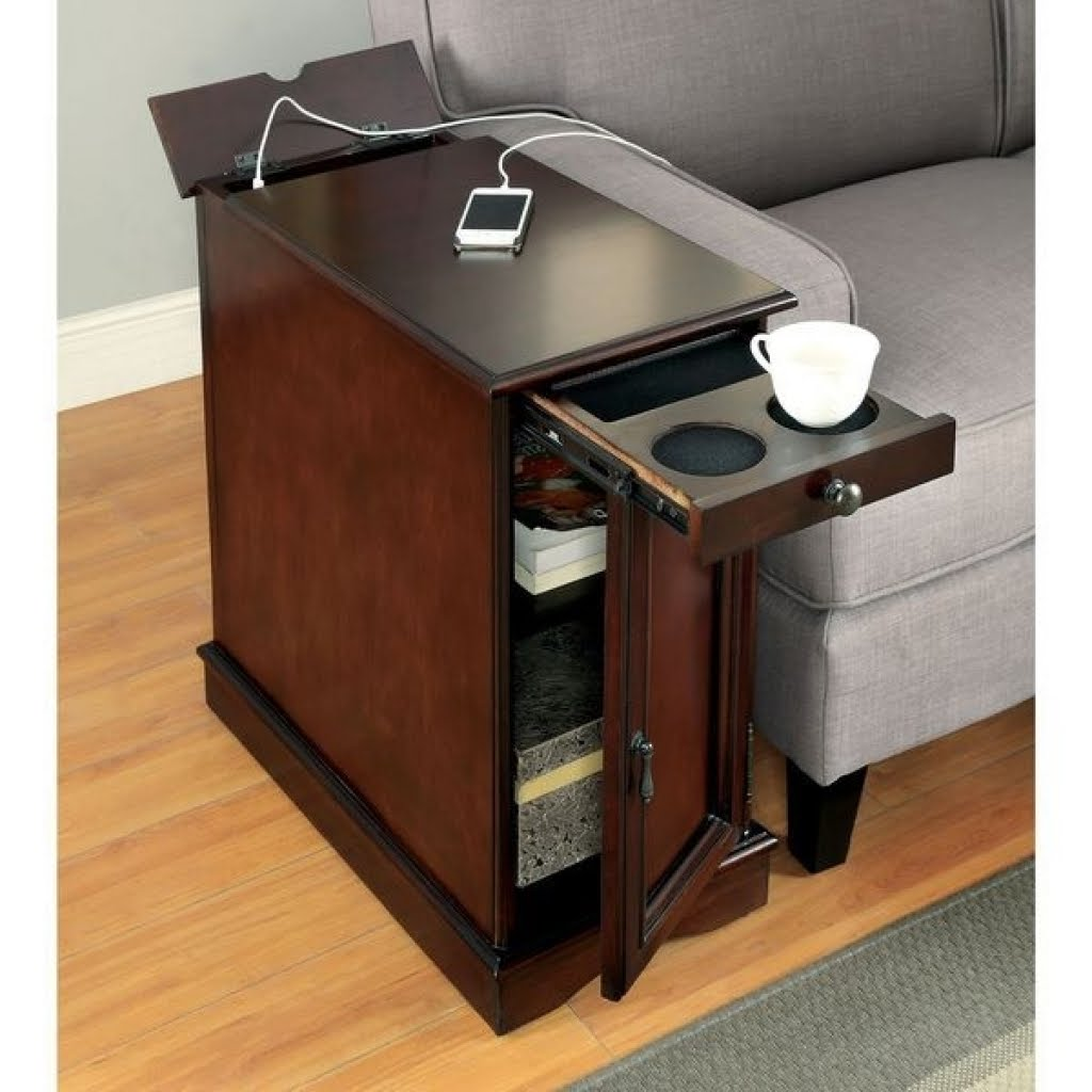 end table with charging station you ll