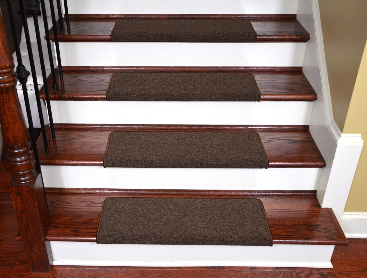 50 Bullnose Carpet Stair Treads You Ll Love In 2020 Visual Hunt | Self Stick Stair Treads | Slip Resistant | Modern | Vinyl Covered | Contemporary | Pad