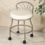 Vanity Chair With Wheels You Ll Love In 2020 Visualhunt