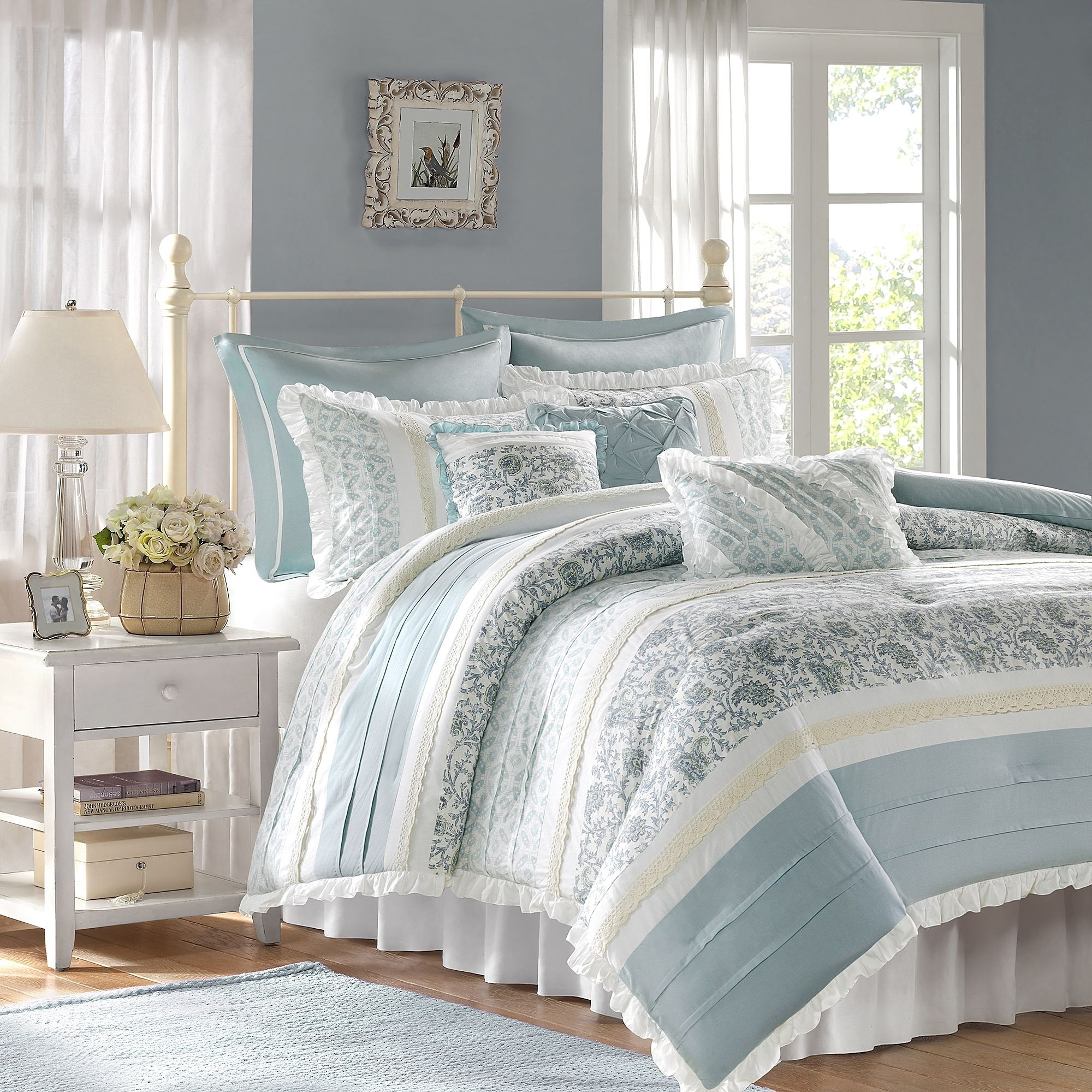 light blue comforter set you ll love in