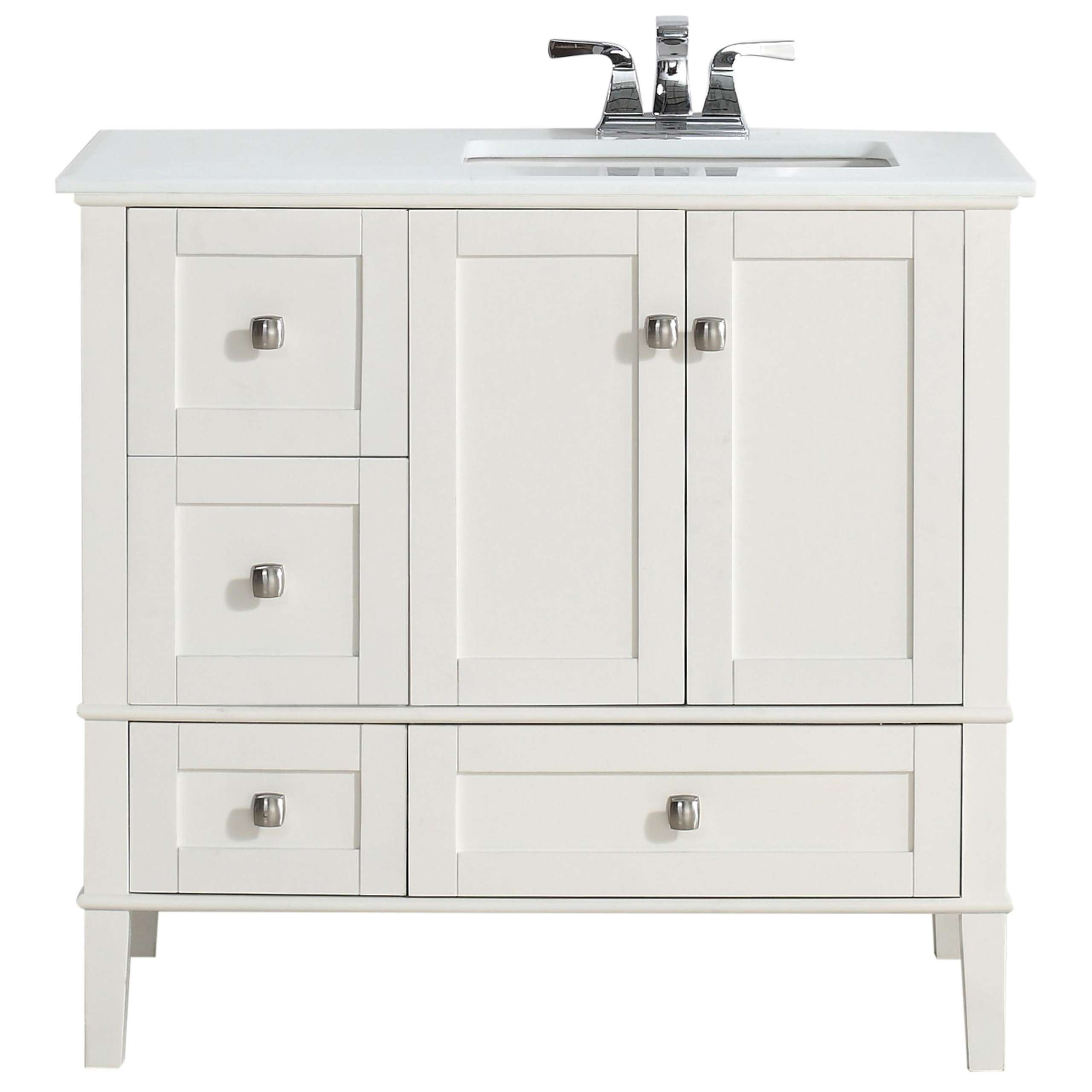right offset bathroom vanity you ll