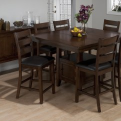 High Top Table With 6 Chairs Small Antique Rocking Chair Square Dining For Visual Hunt Taylor Counter Height Extendable