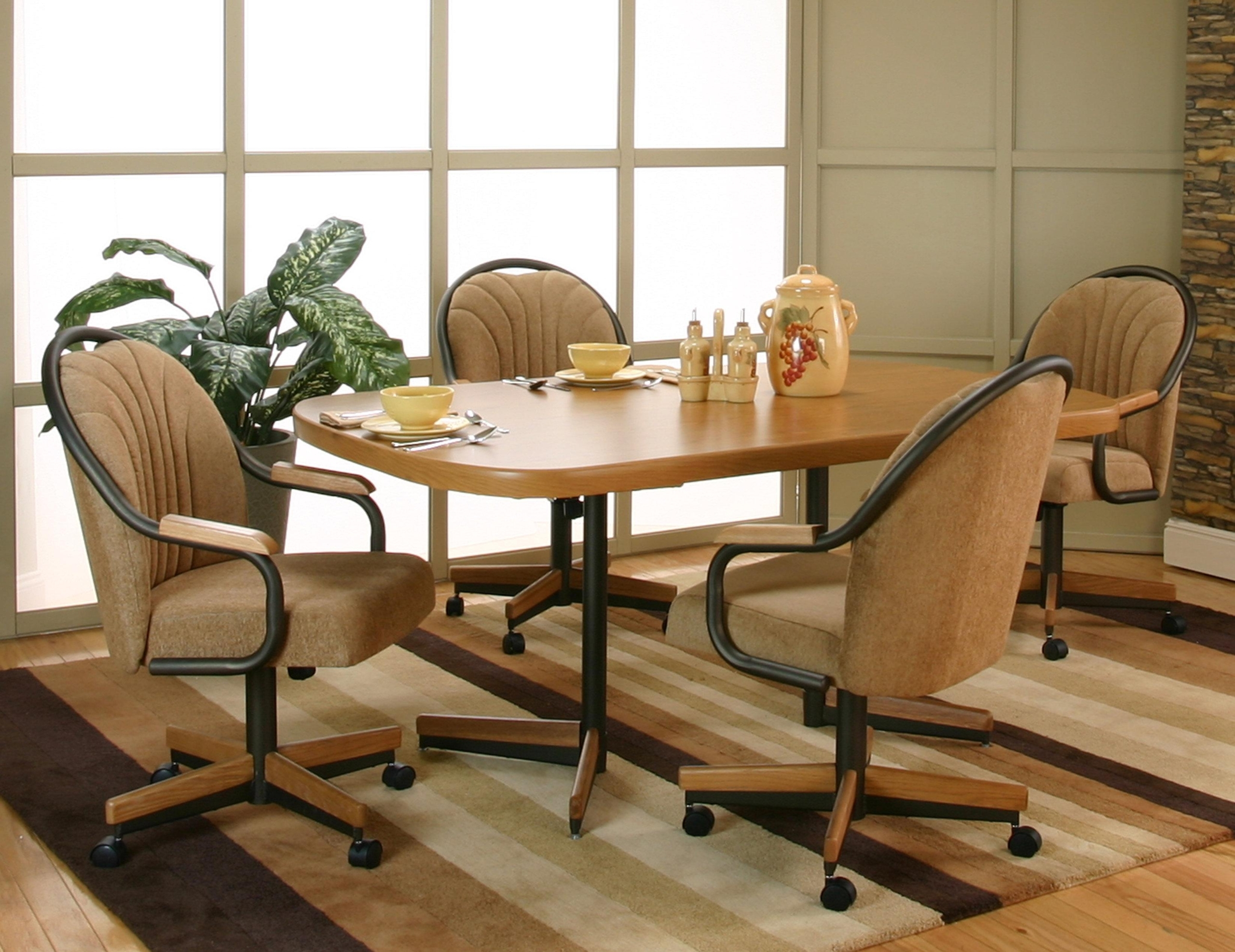 Dinette Sets With Caster Chairs You Ll Love In 2020 Visualhunt