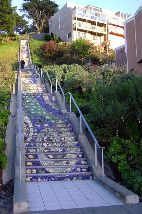 San Francisco's 16th Avenue Steps
