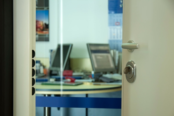 Image of an Office Door - Why Technology Diagrams Help Explain Computing