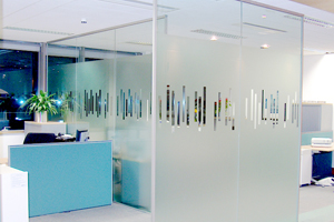 Manifestations Frosted Window Film at Visualize