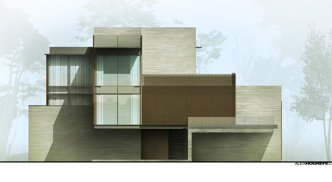 Exterior Elevation Shadow Tweaking  Visualizing Architecture