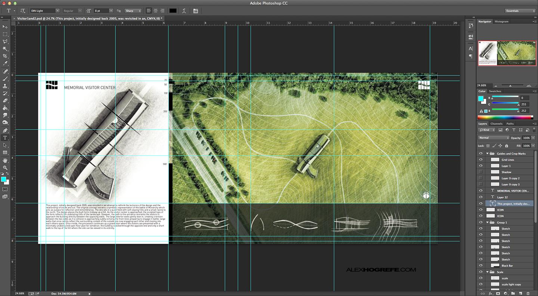 Architectural Portfolio Workflow Visualizing Architecture