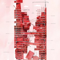 Architecture Section Diagram How To Make A Clandestine Canyon Visualizing