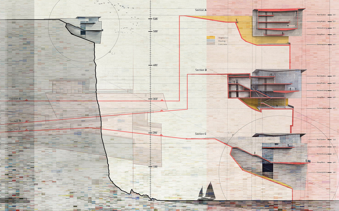 architecture section diagram 2004 toyota tacoma parts visualizing cliff retreat spread