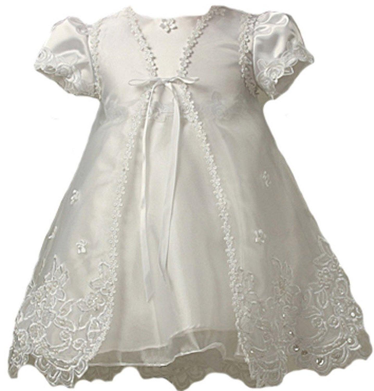 Kid Collection Baby Girls Sheer Elegance Christening