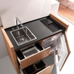 Compact Kitchens Porcelain Kitchen Sink Living By Kitchoo Visuall