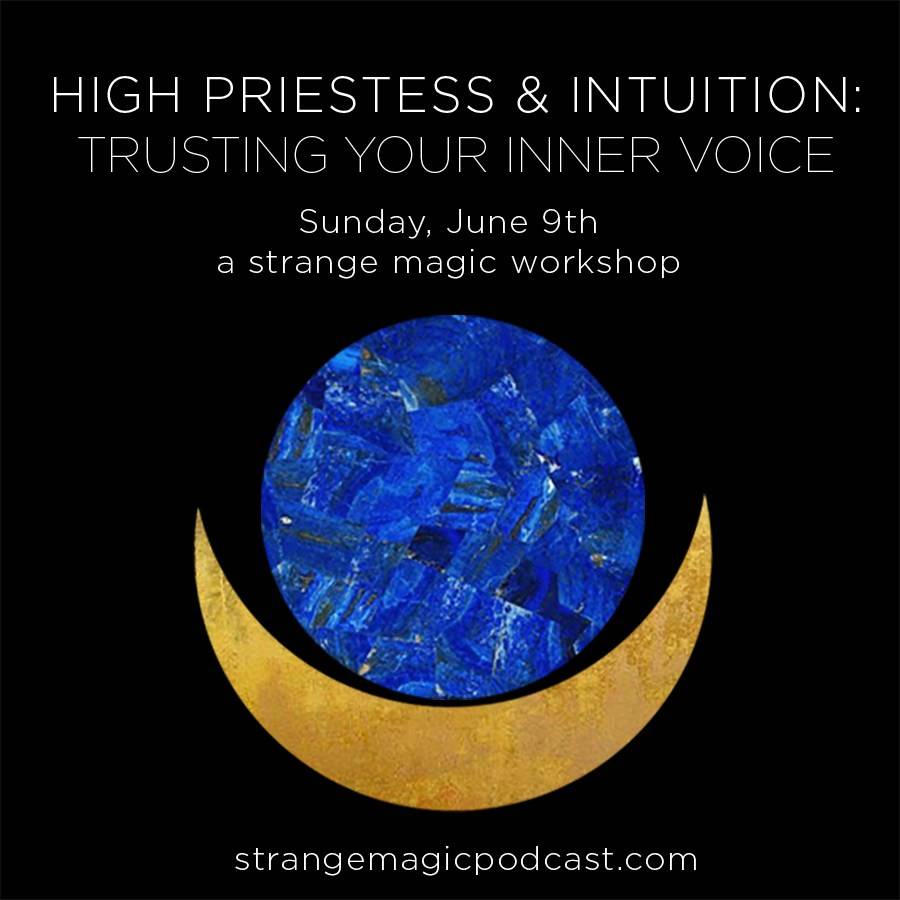Strange Magic Podcast | Sarah Faith Gottesdiener | Visual Magic | Many Moons | Modern Women