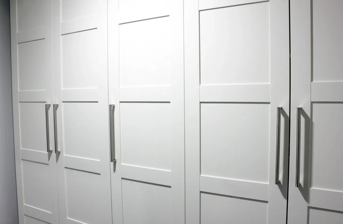 Ikea Pax wardrobe BERGSBO doors