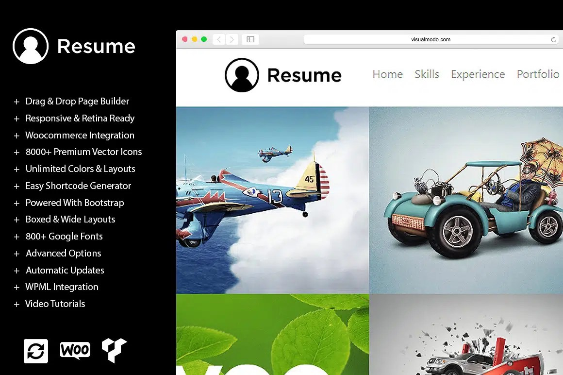 Wordpress Resume Themes Resume Wordpress Theme Documentation Cv Template By