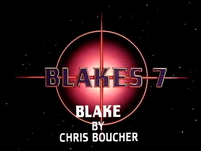 Blake's 7 Blake by Chris Boucher