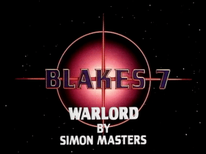 Blake's 7 warlord by simon masters