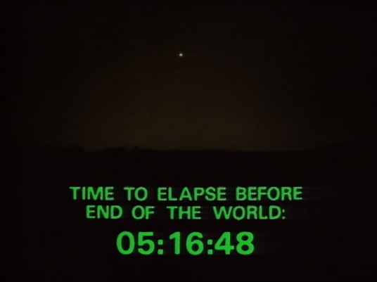 time to elapse before end of the world 05:16:48