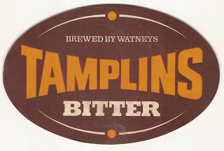 brewed by watneys tamplins bitter badge