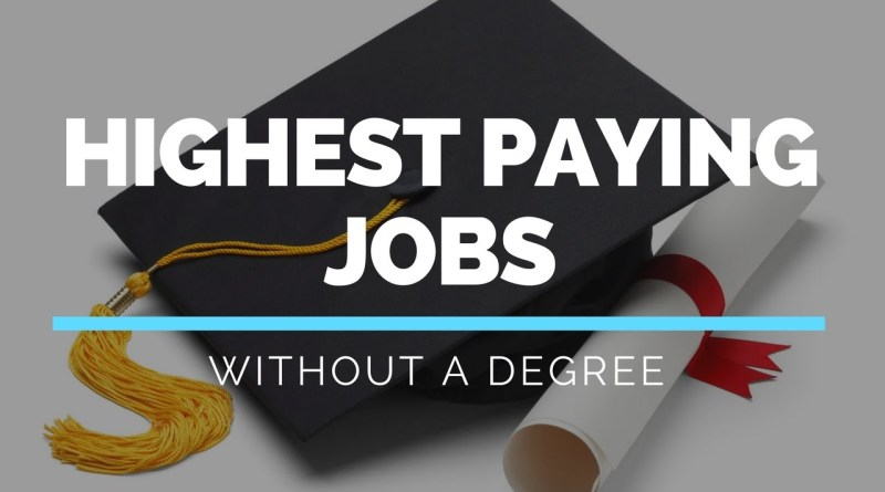 7 Ways to Make $100K+ A Year Without a Degree