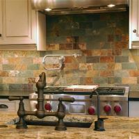 Limestone Tile Backsplash | Tile Design Ideas