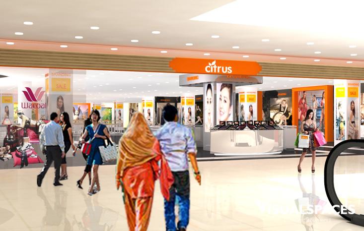 Citrus Department Store in Cilandak Indonesia - Shop Front
