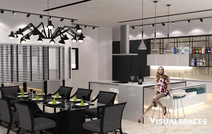 East Ledang Johor Bahru Malaysia - Kitchen Design